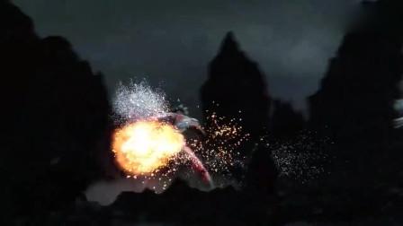 奥特银河格斗,黑暗捷德奥特曼和黑暗艾克斯奥特曼的联手战斗