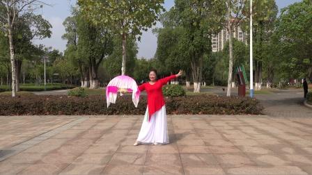 湖南澧县安安舞团典典习舞日记-我的祖国(安安摄制)