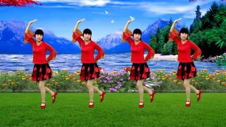 广场舞《青青河边草》欢快动感10步,简单又好看附分解