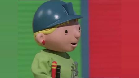 工程师巴布:巴布制作滑滑梯