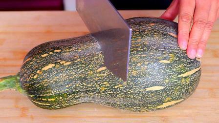 南瓜最好吃的做法,我家一周吃6顿,一顿5斤不够吃,天天吃都不腻