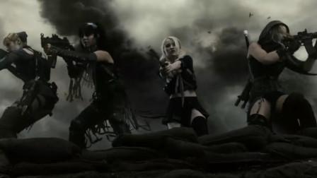 无敌美少女火力全开 所到之处疯狂猎杀  所向披靡!