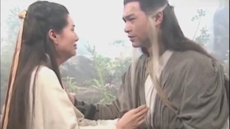 神雕侠侣:杨过终于和小龙女重逢,小龙女一声过儿瞬间泪崩了!