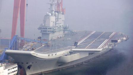 国产航母第8次海试结束甲板已清空,或很快将服役