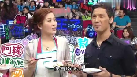 美女厨房:女神周丽淇煮的生蚝,郑中基表情丰富,却笑不出来了