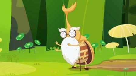 小羊们从甲虫爷爷那里得知昆虫即将灭绝的消息,这也太可怕了