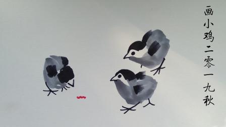 画小鸡窦老师教画画