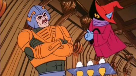 宇宙巨人希曼:奥克小巫师表演杂技,结果又闯祸了,被武士嫌弃