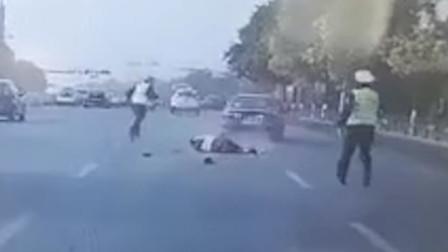 悲痛!辽宁一49岁老警被一轿车故意撞倒后又惨遭碾压 不幸牺牲