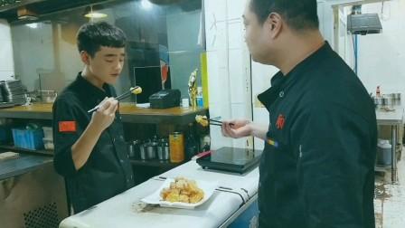 陕西传统小吃蜜汁轱辘,陕西厨师教你正确做法,轱辘酥甜可口