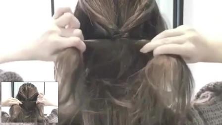 每天带你换发型:发型好看有诀窍,奔三后可以这样扎发型,淡雅又有魅力!
