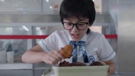 林妙妙吃货人设上线,直接跑去食堂疯狂打肉!吃相也太恐怖了