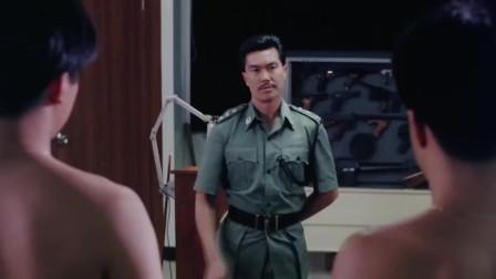 当年那个帅过刘德华的林俊贤,颜值爆表,老电影里依旧帅气逼人