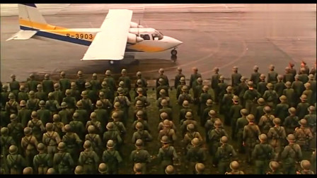 霸王卸甲:这出发的阵势真的是隆重,人们都夹道欢迎 !