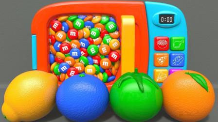 儿童玩具益智早教动画:奇趣蛋里面竟然藏着大猩猩、大象和狮子!2分钟学会4种颜色