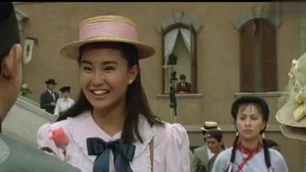 A计划:年轻时候的女神张曼玉,没有美颜和化妆,也太漂亮了吧!