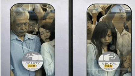 """日本地铁发达,却是女性的""""噩梦"""",宁可走路也不愿坐"""