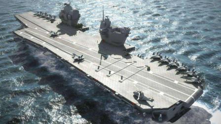 英国的伊丽莎白女王号航母站起来了!有些性能甚至超过美国!