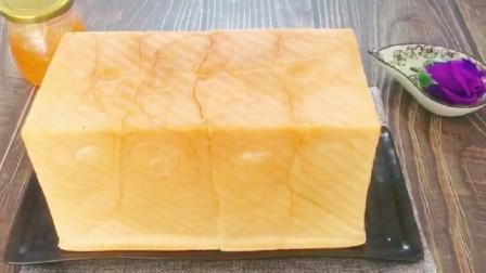 一碗面粉加点牛奶,做可以撕着吃的吐司面包,蓬松、喧软、拉丝!