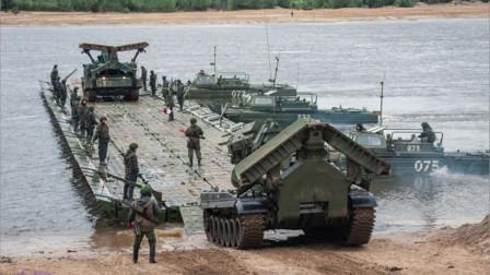 叙利亚局势再次恶化,俄叙修建浮桥集结出兵