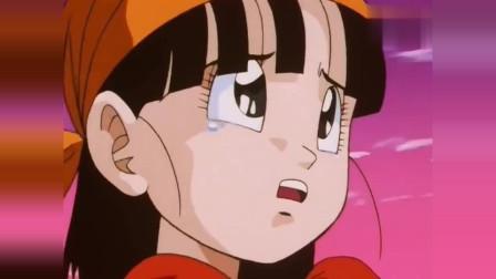 龙珠GT:孙女小芳一滴眼泪唤醒爷爷,悟空变身超级猿化赛亚人!