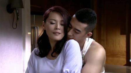 男子一大早就给女老总做爱心早餐,两个人甜蜜的吻在了一起