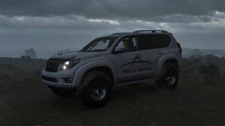 地平线4:丰田普拉多4.0山地越野测试