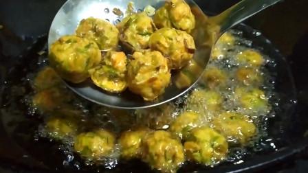 青萝卜丸子最近火了,教你秘制新吃法,做法简单味道足,好吃不腻