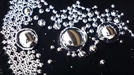液态金属碰到硫酸会怎么样?反应太神奇了!