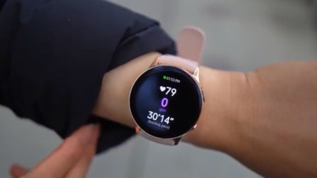 三星Galaxy Watch Active2评测:功能全面的智能手表,运动商务均在线