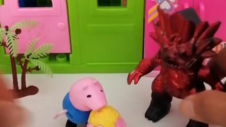怪兽总是欺负小朋友们,奥特曼变成怪兽的样子去告诉怪兽不能再欺负小朋友了!