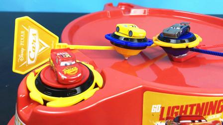 赛车总动员3闪电麦昆陀螺玩具