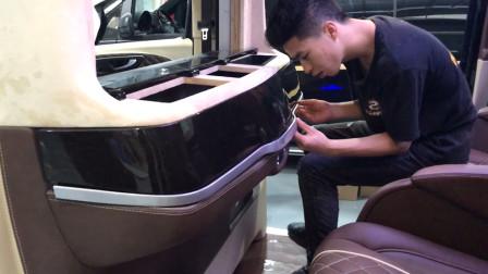 看看每个造型是怎么打造的!奔驰新威霆改装豪华商务车案例展示
