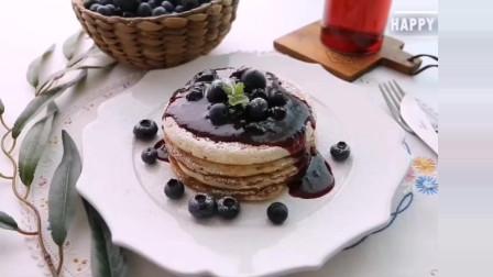 利伯食品:蓝莓酱甜品蛋糕
