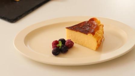 巴斯克芝士蛋糕制作方法,成本不到10块钱,老人和小孩都爱吃