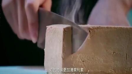 决战食神:刀烧热切片,评委不说这是鹅肝,我还以为是冰淇淋呢