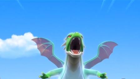 神奇历险记 盟卡车神之灵兽纪元 激战!能量爆满的狂啸虎王!