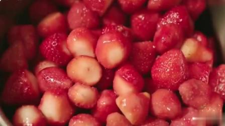 一起用餐吧:女主吃草莓眼睛都亮,做成草莓酱用吐司裹着吃,香