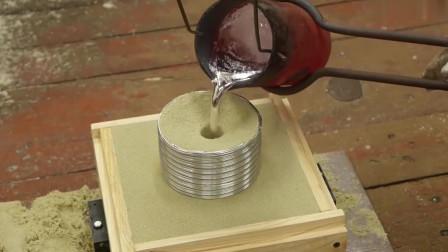 3D打印模型铸造一个铝轮,用上3D打印,铸造停产零件这下不发愁了