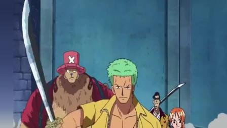 海贼王:索隆强大的气息竟让刀变弯了,这么强的人还只是副船长