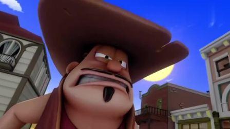 牛仔被蛋糕派,加菲猫因此要罢演,导演也不出来阻止!