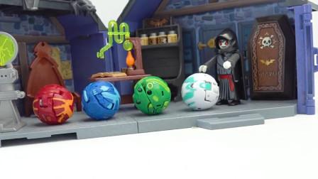 萌宝益智卡通游戏:汪汪队毛毛居然跟吸血鬼抢球大战!最后谁赢了