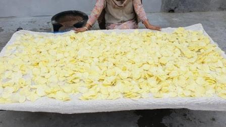 印度老奶奶做的薯片,真正的原汁原味,不含任何添加剂!