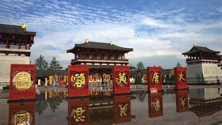 西安大唐芙蓉园,景色迷人,园内的每组雕塑都讲述的是一段动人的故事