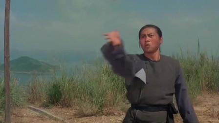 男子手持双刃远程取敌人首级没想到最后输给了一张渔网