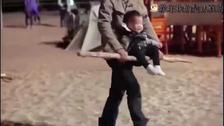 当吴京的儿子太难了!吴所谓:我爸揍我,我妈在旁边拍视频!
