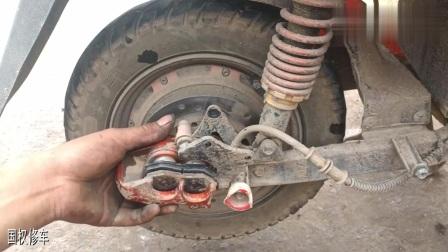 电动车碟刹片刹车刹不住该如何修理?师傅教你最简单的修理方法