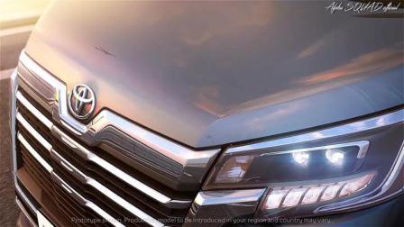丰田GRANACE 2020丰田8座豪华面包车