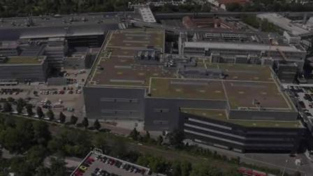 保时捷Taycan德国汽车工厂生产线