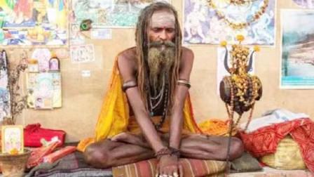 印度90岁苦行僧,自称77年不吃不喝,打开监控一看不淡定了!